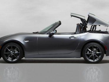 Nowa Toyota Prius oraz nowa wersja Mazdy MX-5 RF