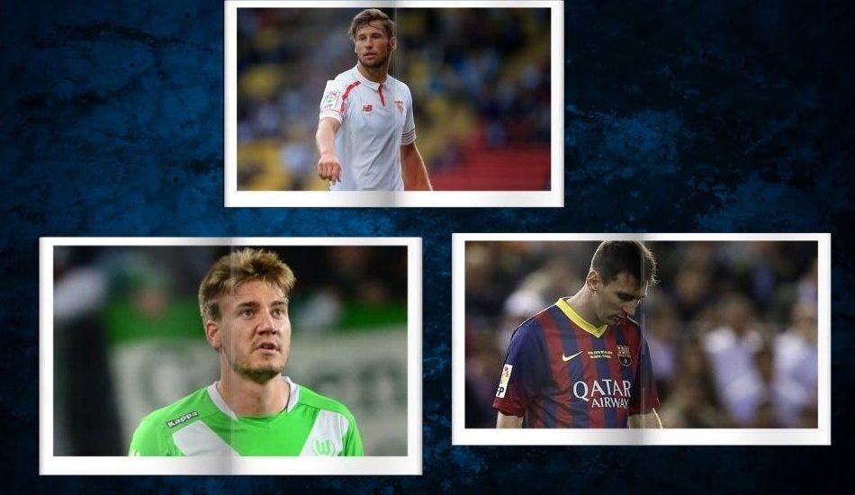 Piłkarskie podsumowanie - Bendtner zwolniony, Juve po Krychowiaka, Messi przegrywa!