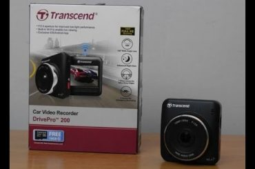 Kamera Transcend Drive Pro Body 10 – test