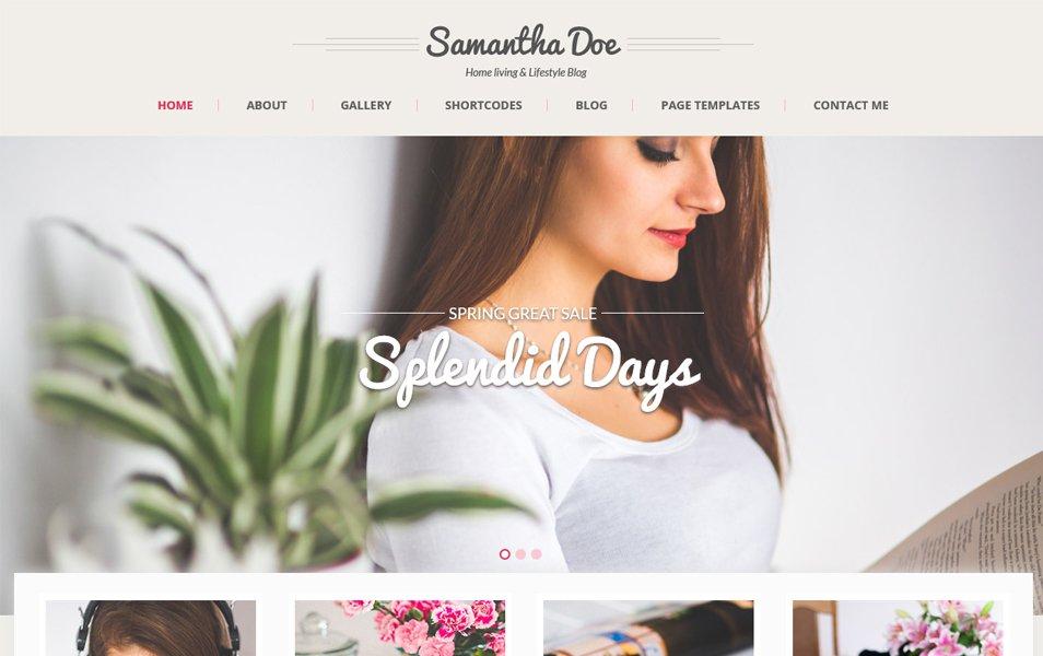 Girlie Lite WordPress Theme