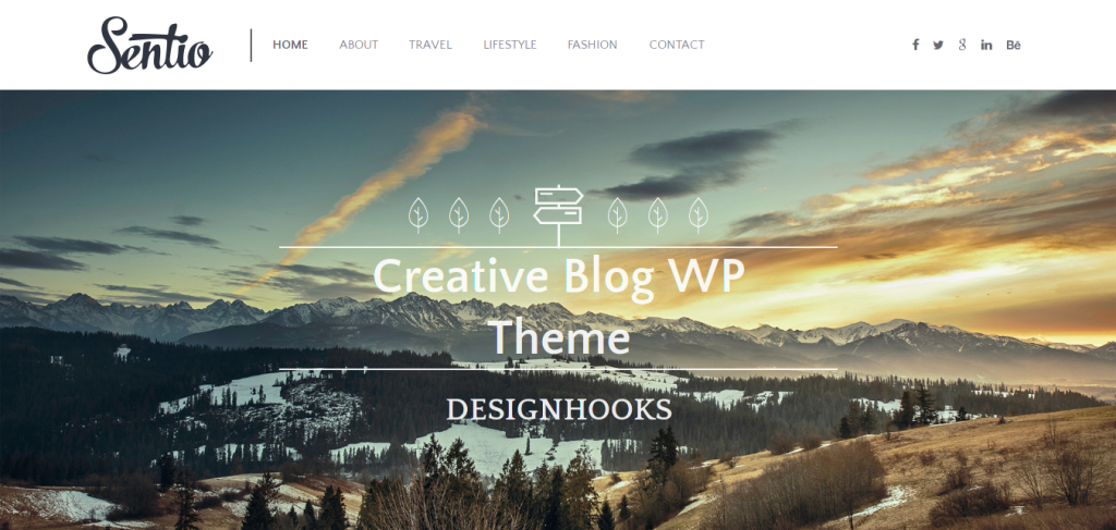 Sentio WordPress Theme