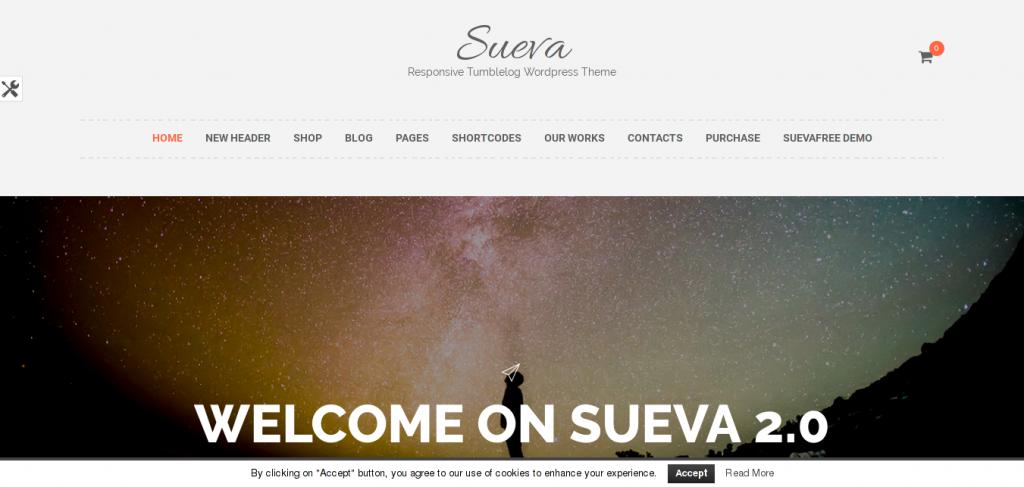 Sueva WordPress Theme