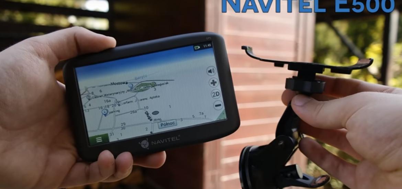 NAVITEL E500 - test i recenzja