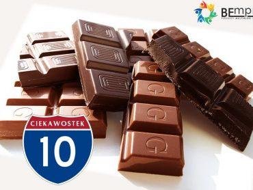 10 słodkich faktów dotyczących czekolady