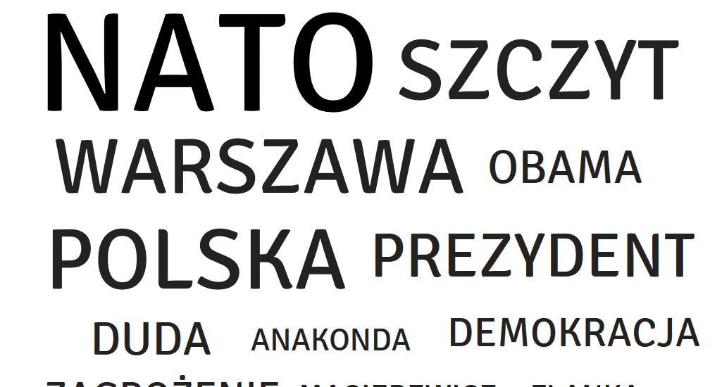 Polacy o szczycie NATO w social media