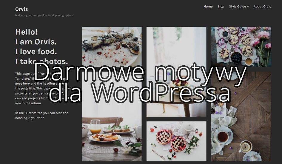 Darmowe motywy na WordPressa