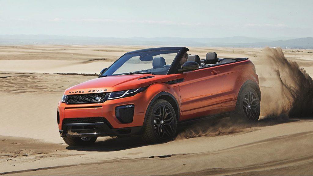 Znamy polskie ceny Range Rover Evoque Convertible!