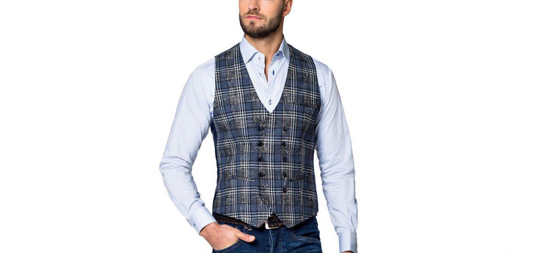 5fe1f9bf8ae95 Kamizelki są nie tylko świetnym uzupełnieniem męskiego garnituru, ale  prezentują się równie elegancko jako samodzielna część ubioru.