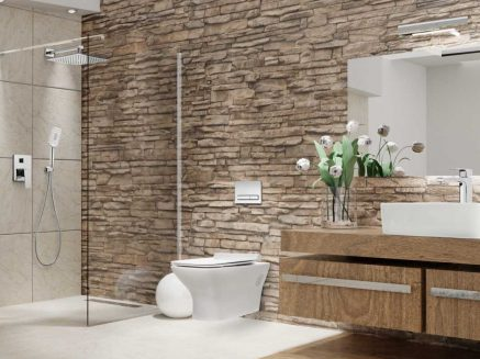 Bezrantowa miska WC, czyli higiena w małej łazience