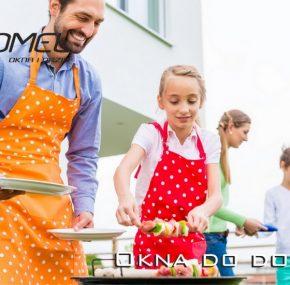Kuchnia otwarta na ogród