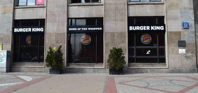 Burger King otwiera flagową restaurację w Warszawie