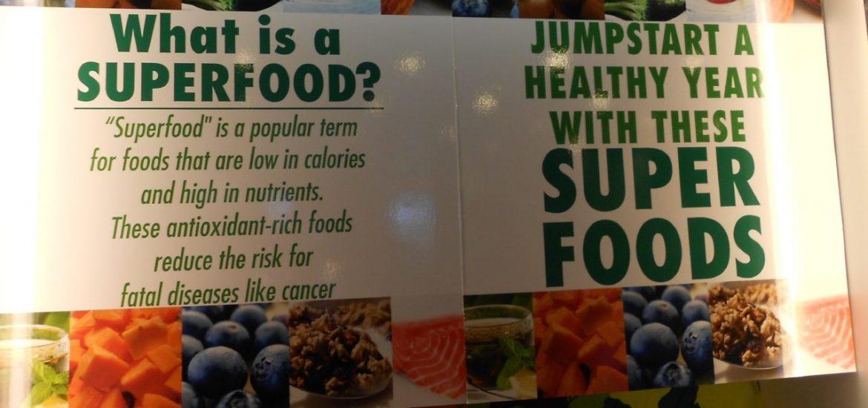 Superfoods Lista polecanych produktów