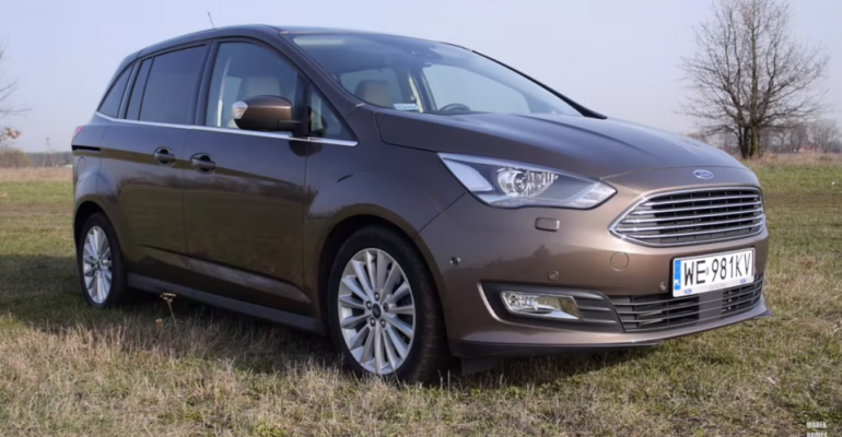 Nowy Ford Grand C-Max – test oraz jazda próbna